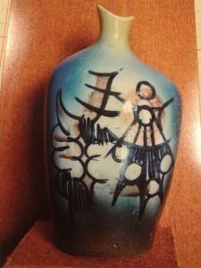 decoative colour ceremic pot (sm)