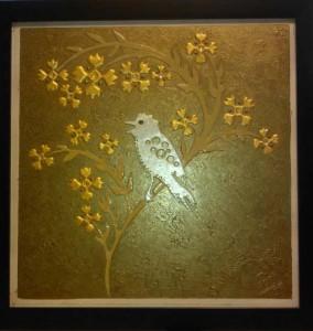 bird on branch,priyanka jagangade(ka)chairman cabin