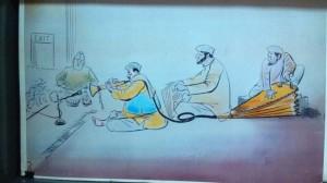 cartoon 4,mangesh tendulkar(ka)