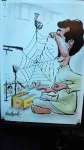 cartoon 5,mangesh tendulkar(ka)