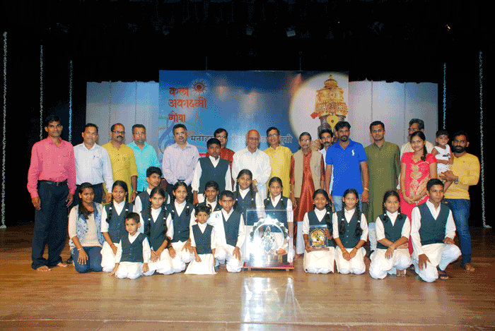 1st Prize Winner- Children category- Shree Sateri Prasadik Bal Bhajani Mandal, Betoda