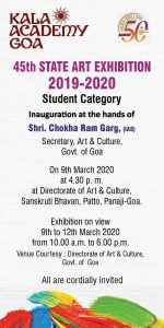 Inaguration & prize distribution of 45th State Art Exhibition in Students category (2)