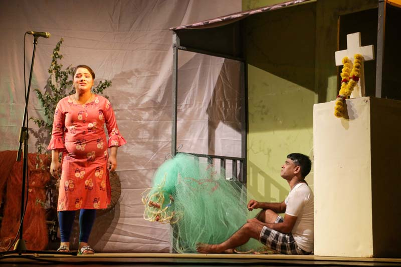 1st prize winning tiatr 'Sorry' staged by Machi Mogi Cultural Sanskrutic Saunsthan, Morjim