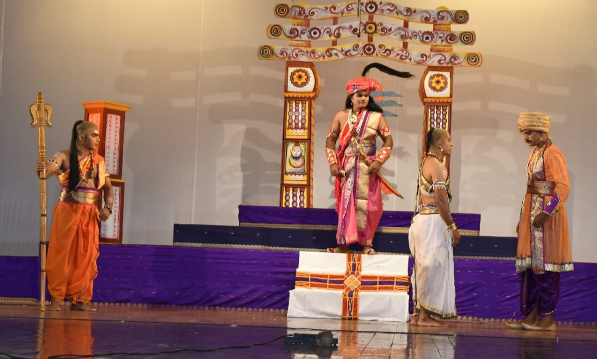 "1st prize winning Drama ""Arya Chanakya"" Presented by Om Kala Sankrutik Kendra, Halarn-Pernem in the 51th Marathi Drama ""B"" Group Competition (2020-21)"