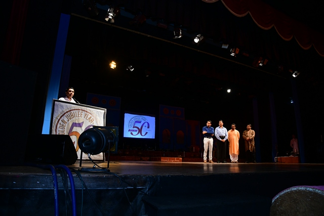 Chief Minister, Shri. Pramod Sawant addressing the audience