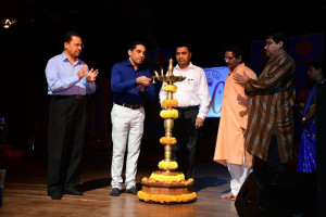 Inaguration by Shri. Govind Gaude, Chairman of Kala Academy