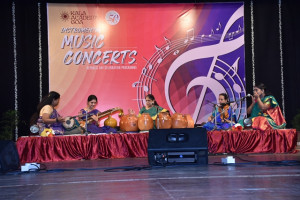 Carnatic Instumental Concert by Stree Taal Tarang Group of Panchakanyas