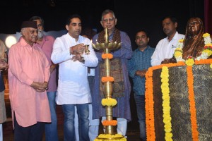 Inauguration by Shri. Govind Gaude, Art & Culture Minister2