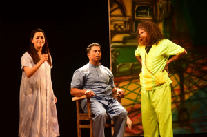 1st prize winning drama ' Kasale Ani Ghosale' by Atharva Ved, Altinho-Panaji in Konkani Drama Competition