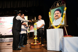 Inaguration at the hands of Dr. Dilip Pandharpatte